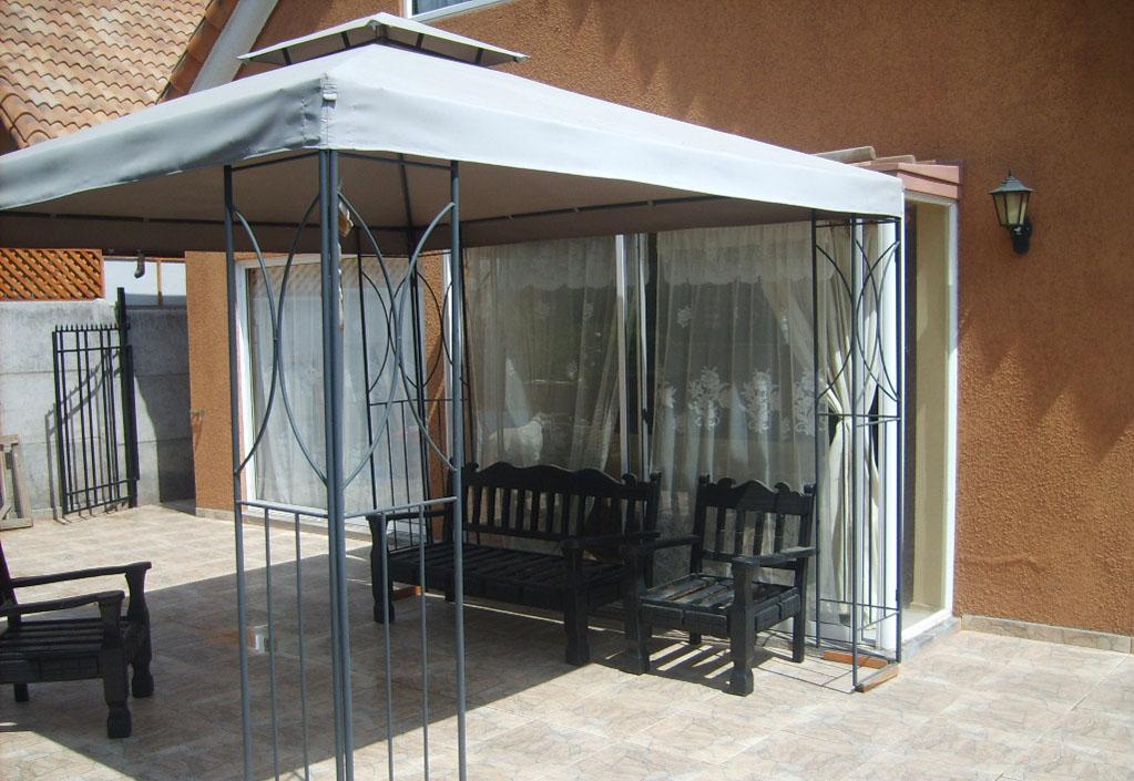 Productos estructuras met licas for Cobertizos para terrazas